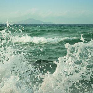 Welle Gischt